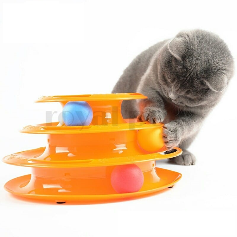Cat Playing Ring Toy