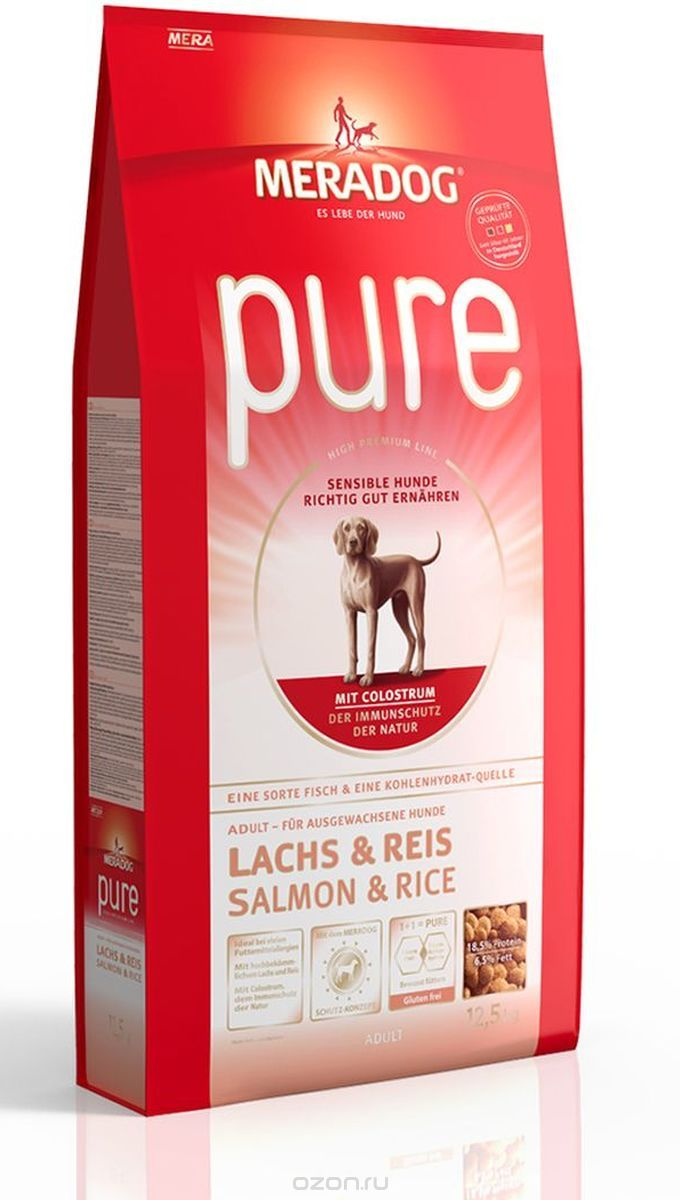 Mera Dog Salmon & Rice - 12.5 kg