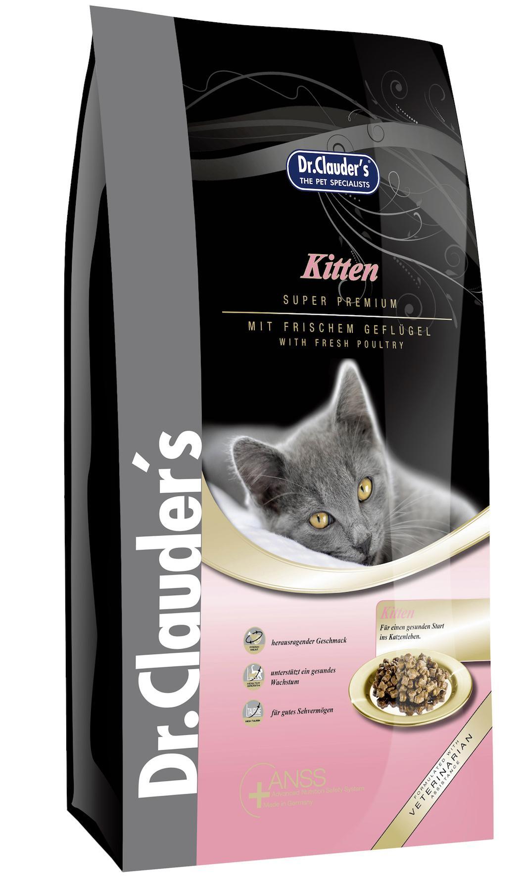 Dr. Clauder's Kitten Super Premium