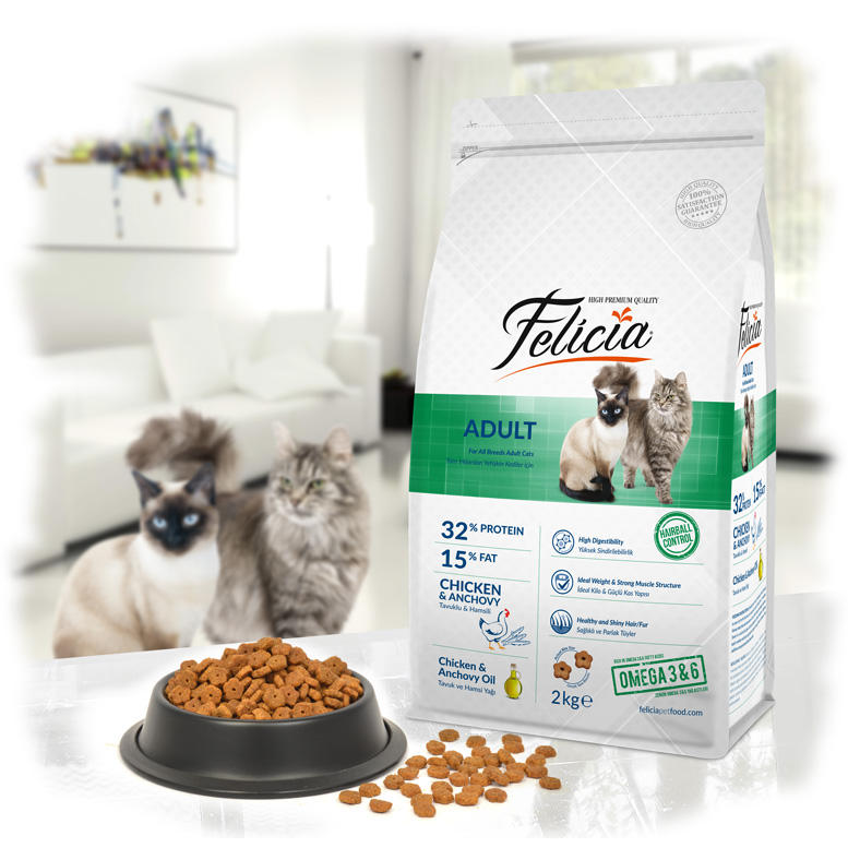 Felicia Adult Cat Chicken-Anchovy - Pet Food - Pet Store - Pet supplies