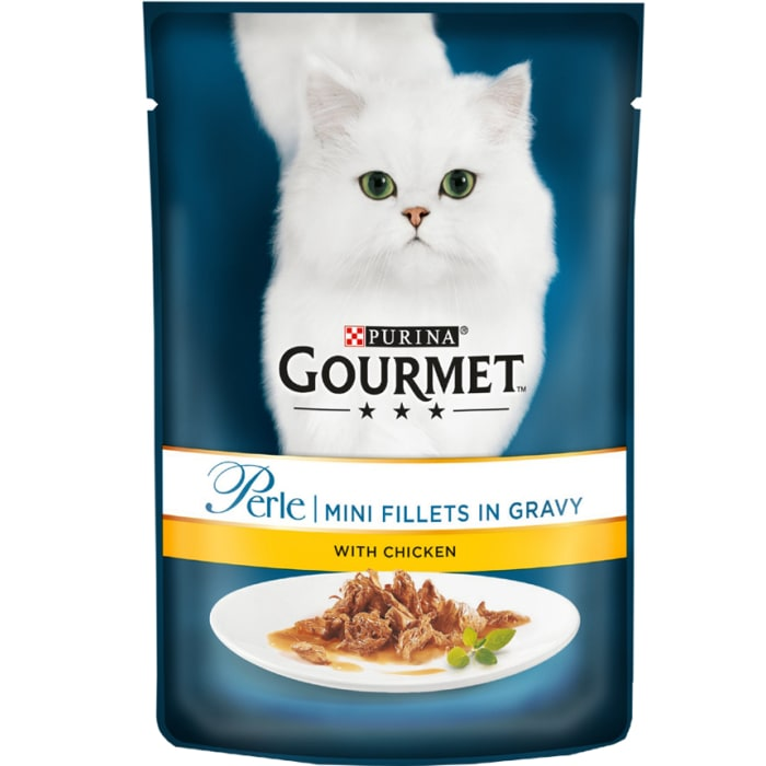 Purina Gourmet Mini Fillets in Gravy (Chicken or Beef)