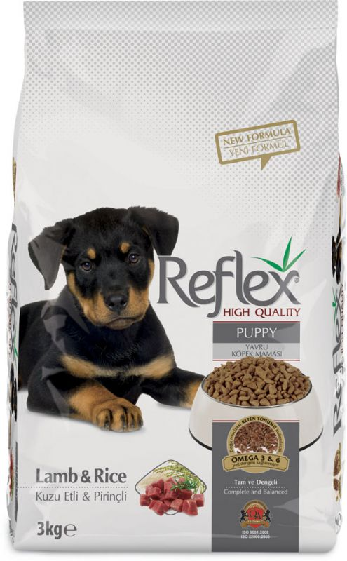 Reflex Puppy Food – Lamb n Rice 3kg