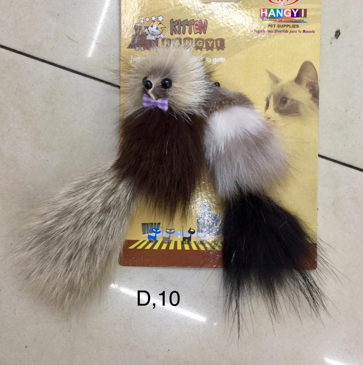 Toy Tripple Mouse For Cats And Kittens - Pet Accessories - Pet Store - Pet supplies