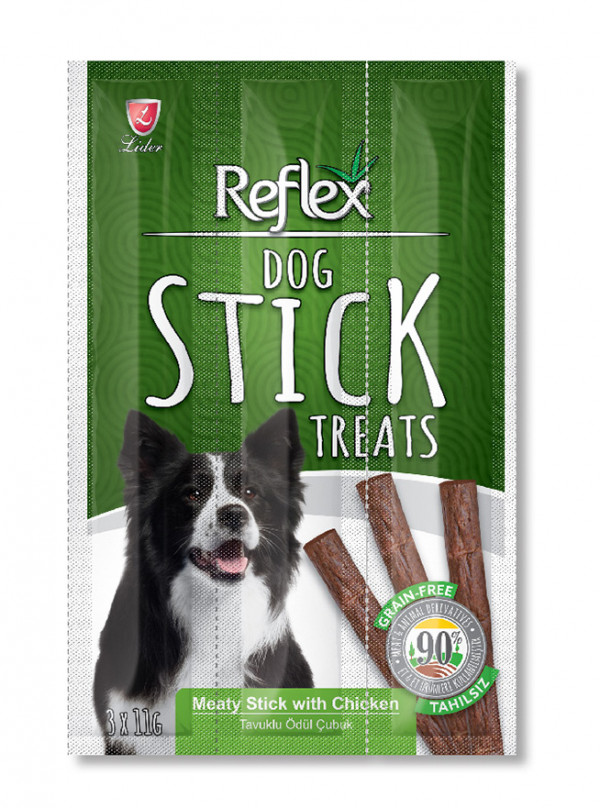 Reflex Meaty Stick with Chicken – Dog Treat 1.1kg