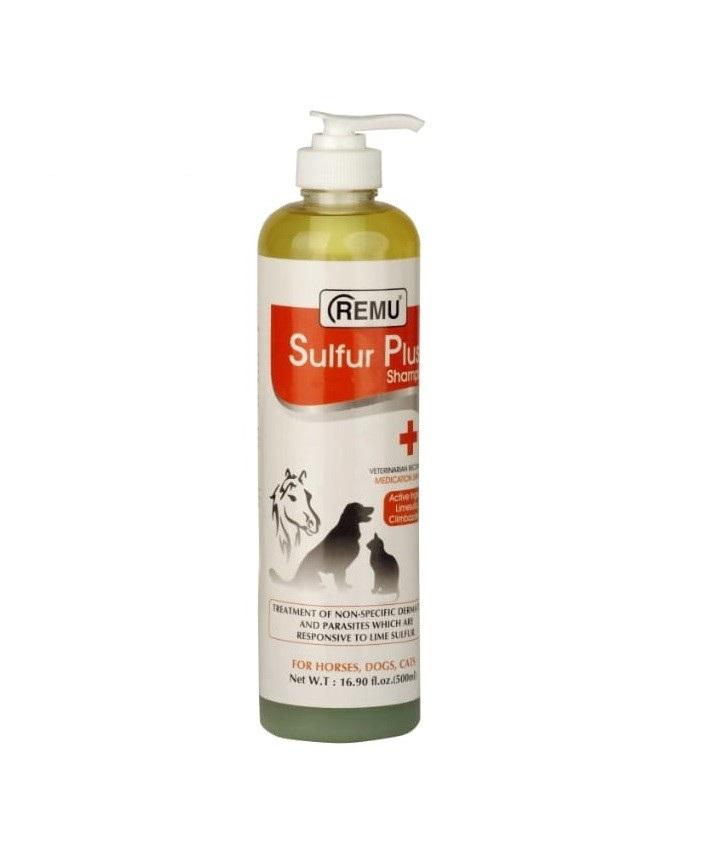 Remu Sulfur Plus Medicated Shampoo - Pet Accessories - Pet Store - Pet supplies