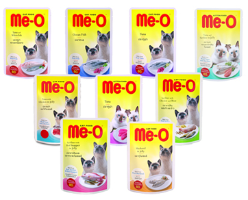 Me-O Wet Cat Food (Pouch) 80 g - Pet Food - Pet Store - Pet supplies