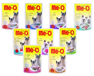 Me-O Wet Food (Pouch) 80 g - Pet Food - Pet Store - Pet supplies