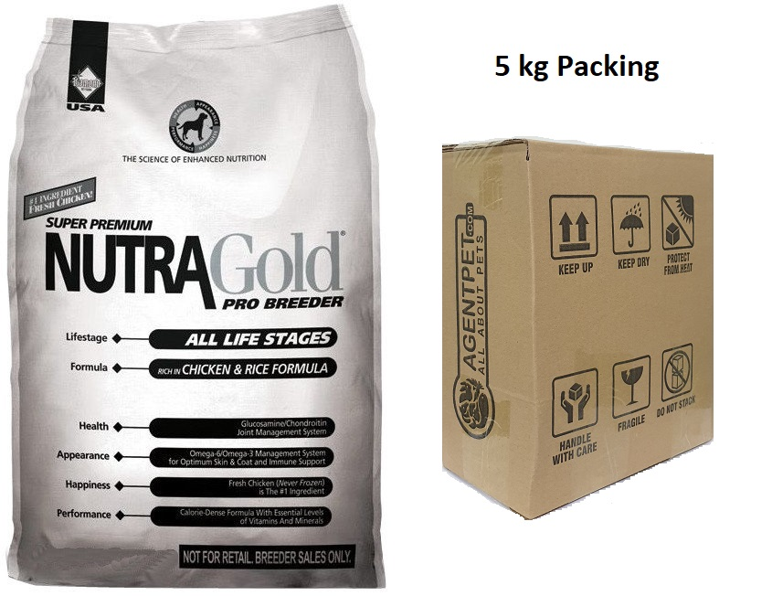 Nutragold Pro Breeder - 5 kg Packing