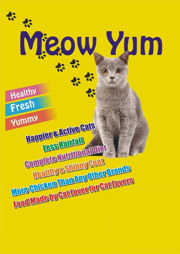 Meow Yum Cat Food Jelly